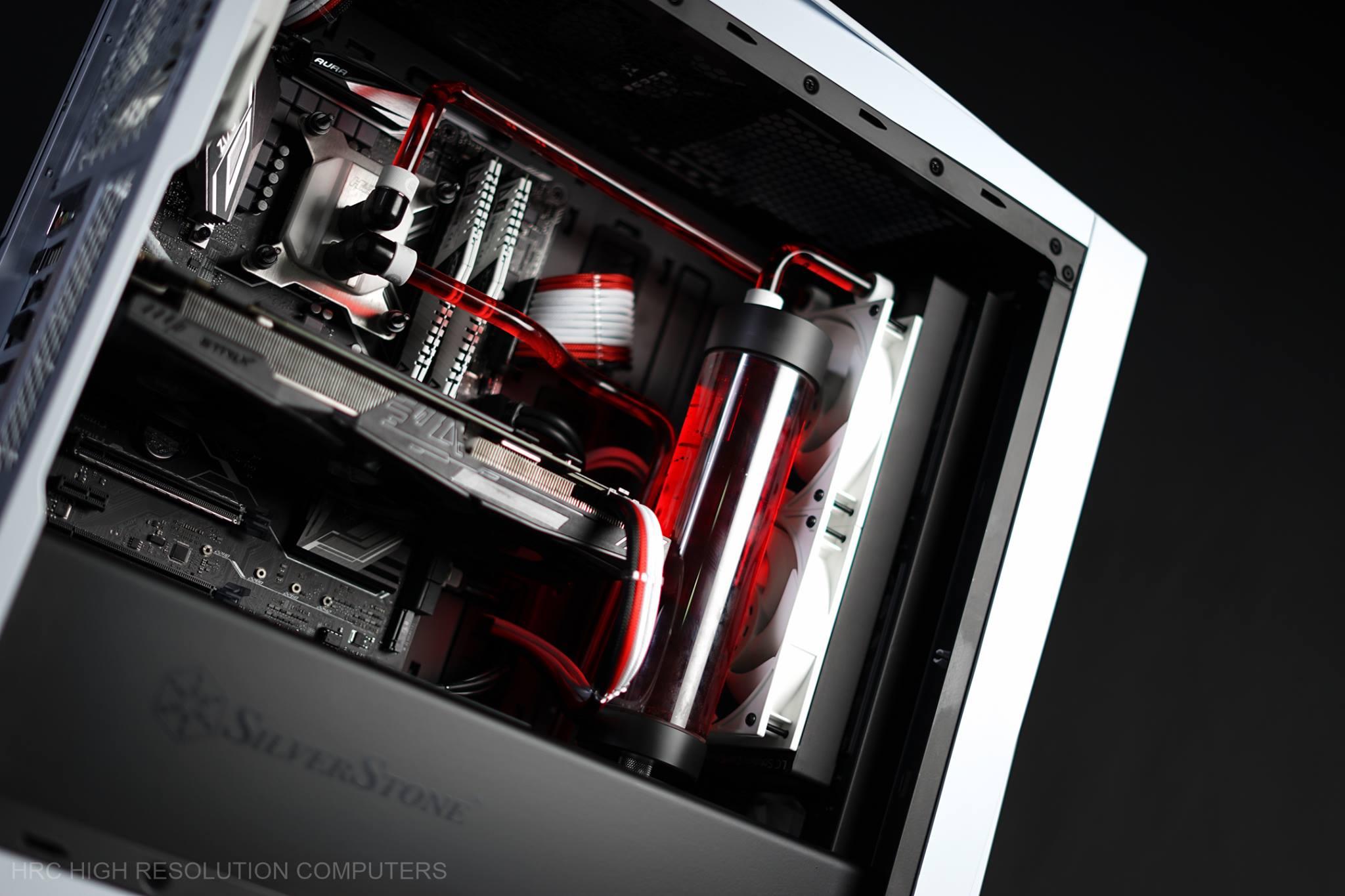 银欣silverstone Primera PM01超跑机箱mod装机方案图片