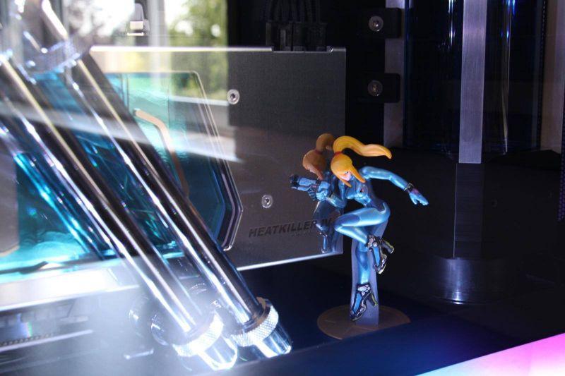 上墙式联力水冷机箱Zero Suit Samus V2水冷改装MOD方案