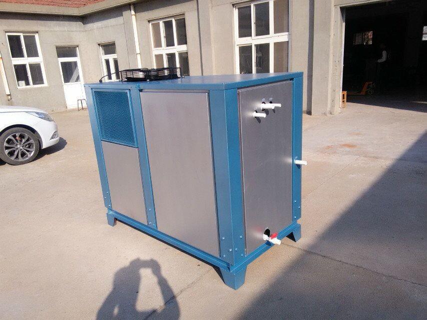 滕州水冷风冷反应釜专用冷水机组网上报价图片